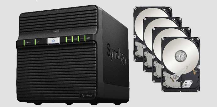 NAS Synology data recovery