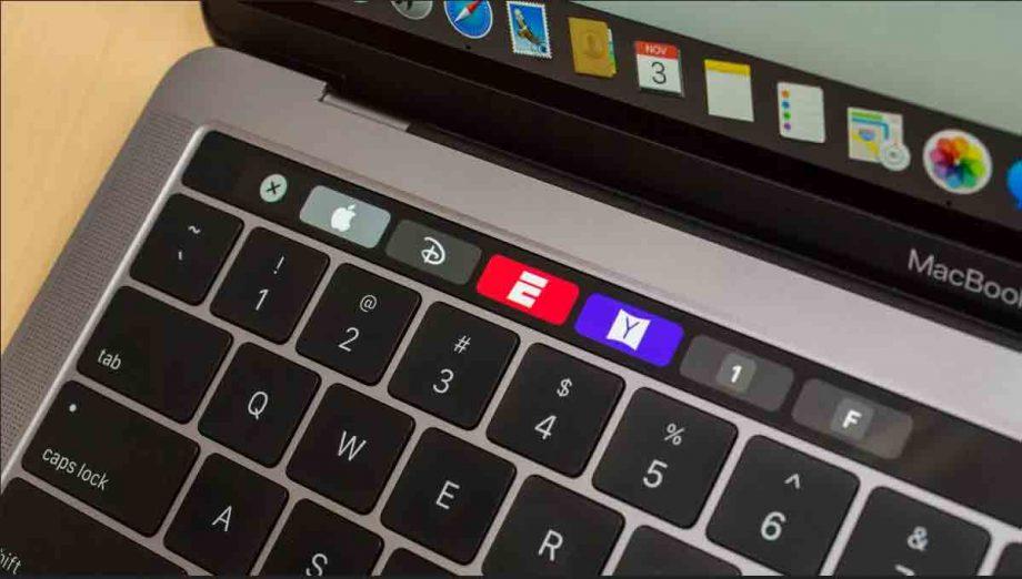 macbook pro touchbar 2018 kena air